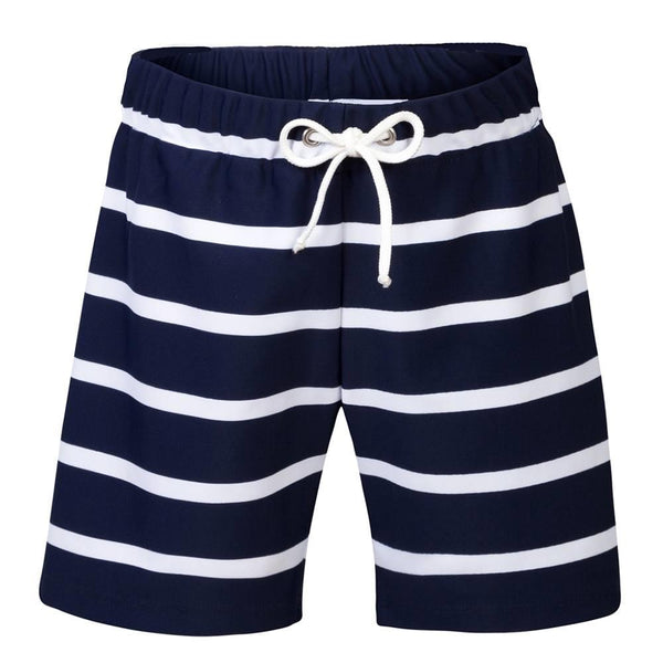 Petit Crabe UV-shorts m/bindebånd, Alex - Blue/White
