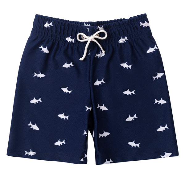 Petit Crabe UV-shorts m/bindebånd, Alex - Blue Ocean Fish