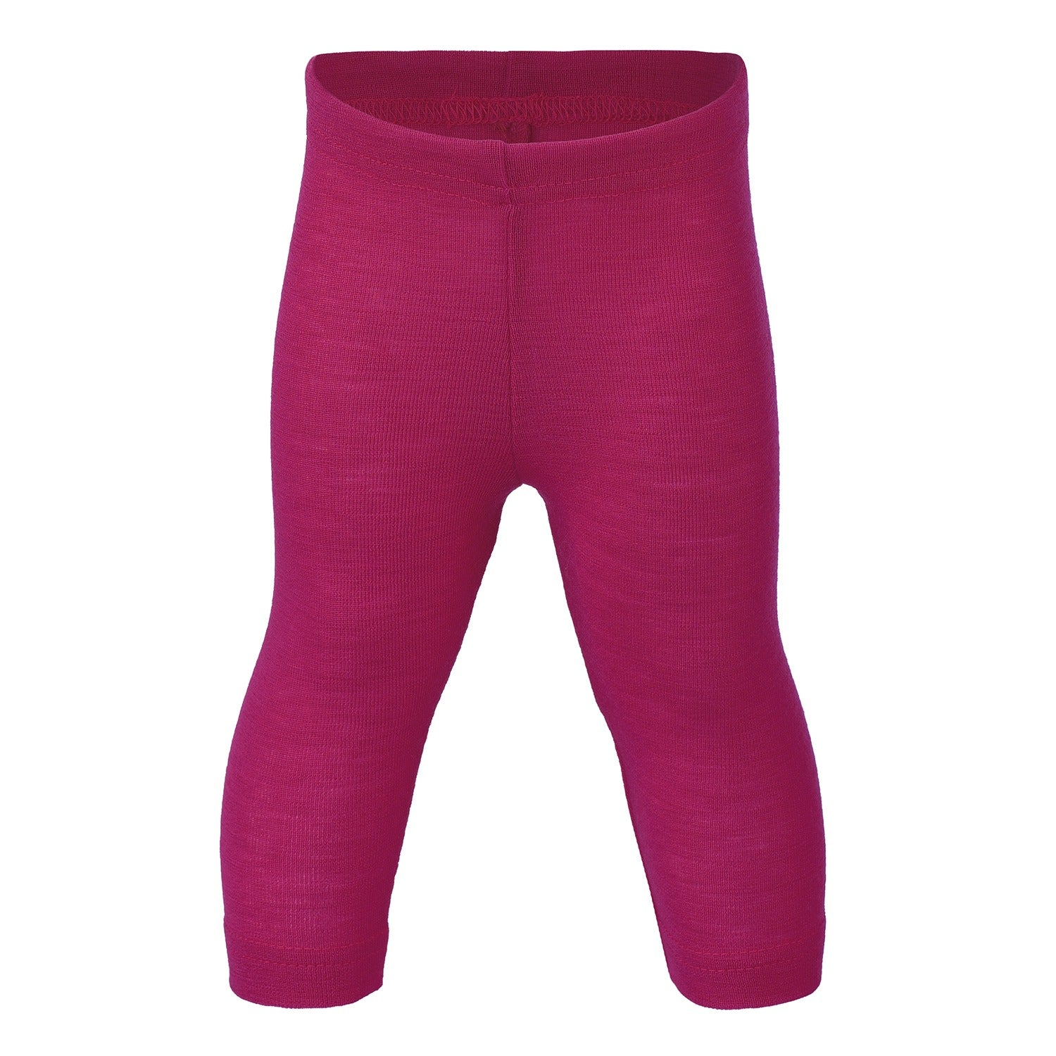 Image of   Engel bukser / leggings, uld/silke - Raspberry