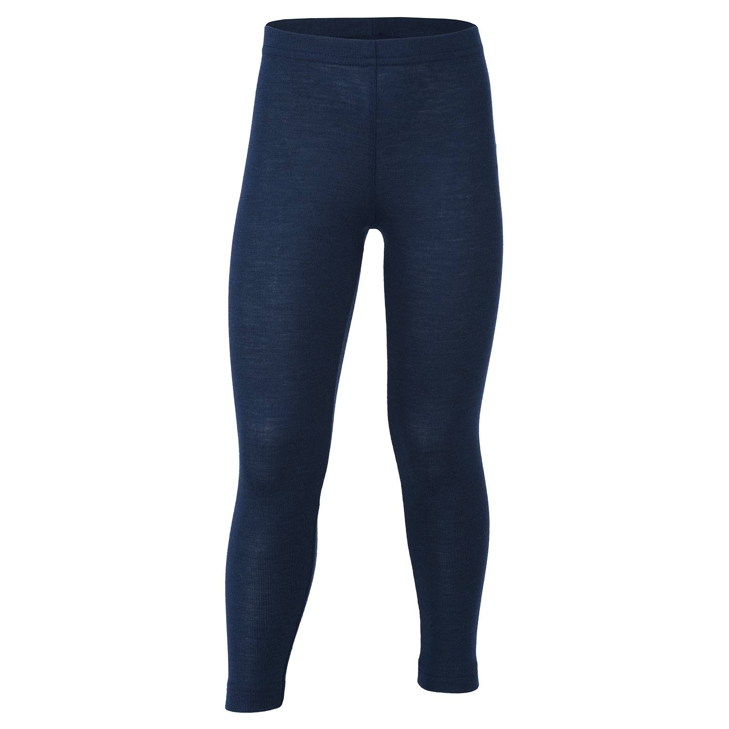 Image of   Engel bukser / leggings, uld/silke - Navy