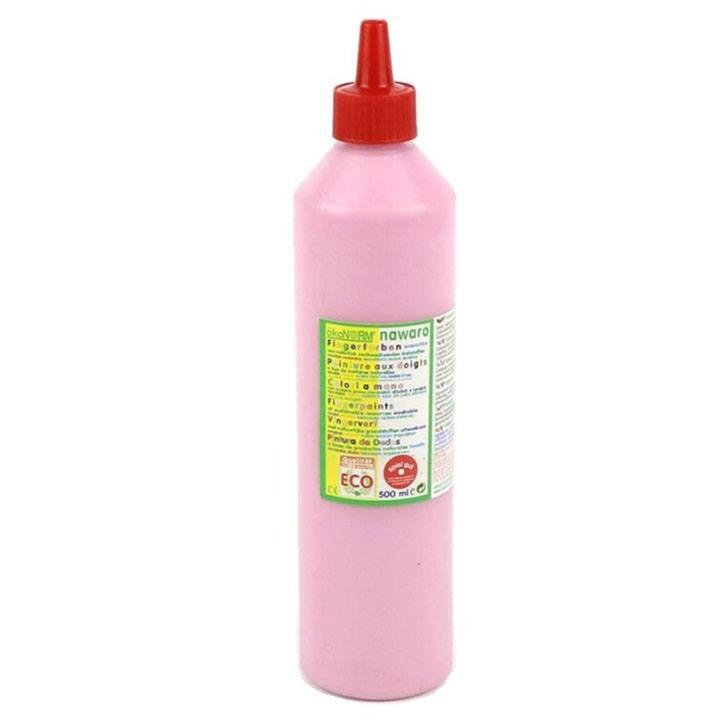Image of   Fingermaling - rose, 0,5 l