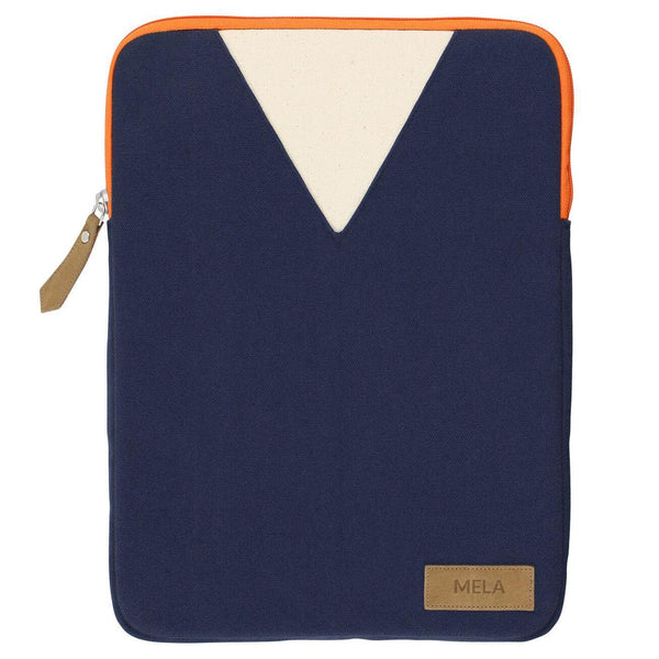 "Melawear sleeve 13"" - Blue/Orange"