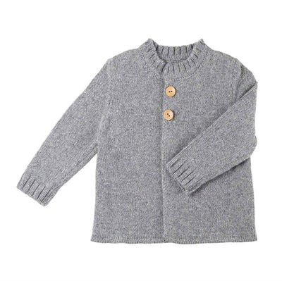 Image of   Pure Pure bluse til baby i ren uld - Silver Grey