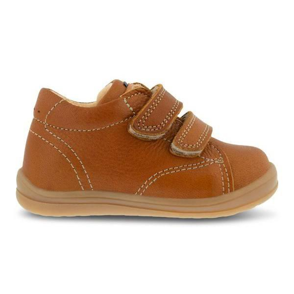 Kavat starter sko m/velcro, Asko EP - Light Brown