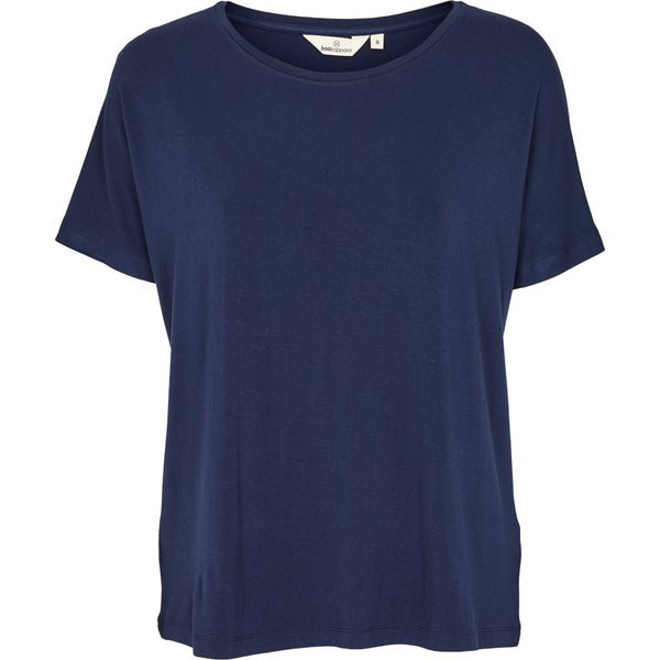 Basic Apparel T-shirt Joline - Navy