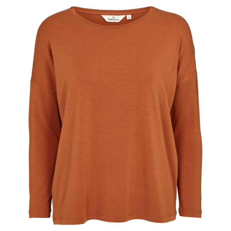 Basic Apparel T-shirt, Joline - Rust