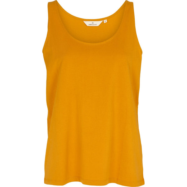 Basic Apparel tanktop, Rikke - Inca gold