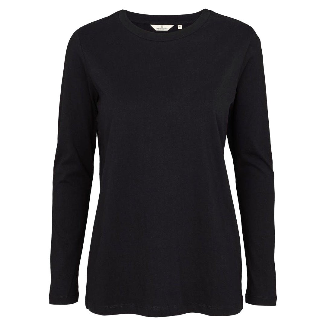 Basic Apparel langærmet t-shirt, Rikke - Black thumbnail
