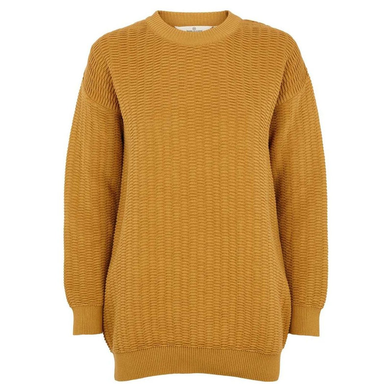 Basic Apparel Sweater, Kela - Honey mustard