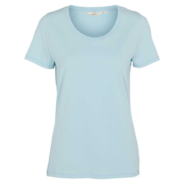 Basic Apparel t-shirt, Rebekka - Aquamarin - naturebaby.dk
