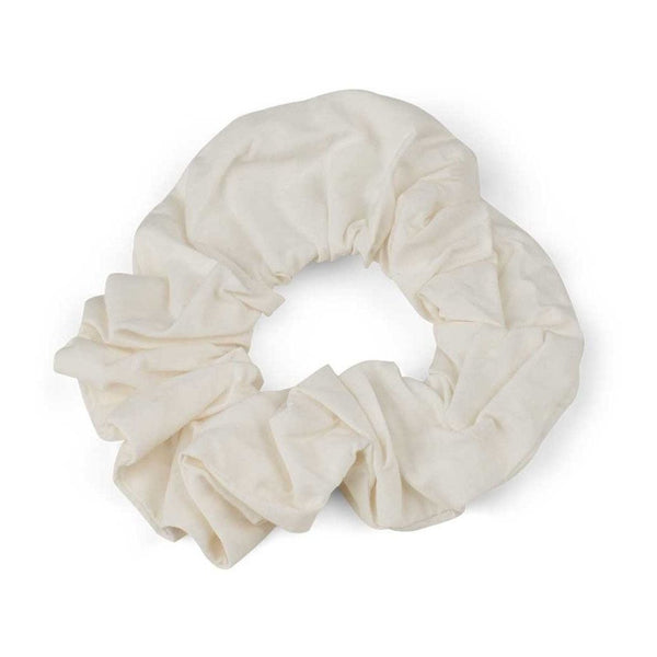 Basic Apparel scrunchy, Vilde - White