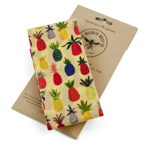 The Beeswax Wrap Co. Pineapple, Bread Wrap - 1 wrap