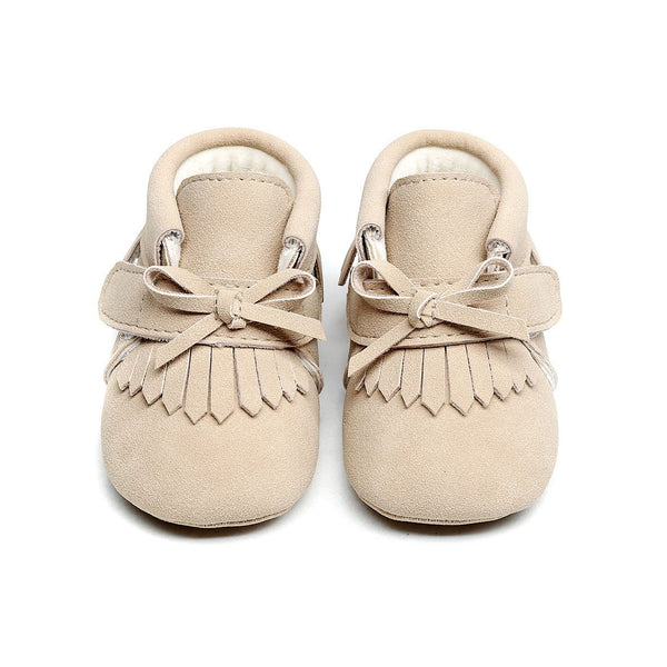 Babymocs sutsko, Little Adventurer - Beige