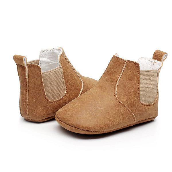 Babymocs sutsko, Little Wonderland - Brown
