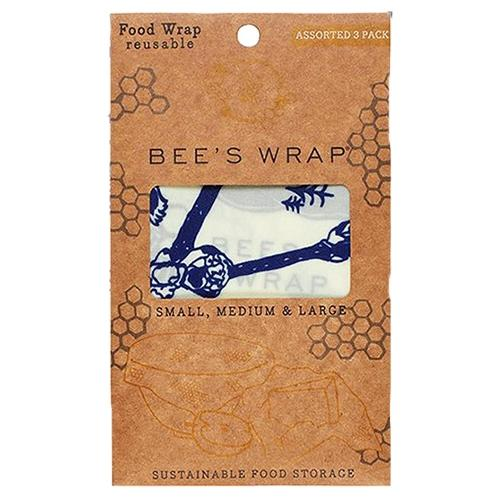 Bee's Wrap - 3-pak - Assorteret - Bee's & Bears