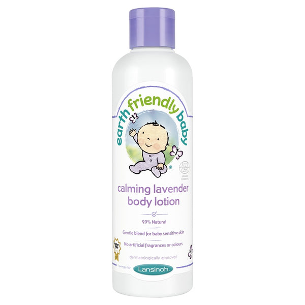 Earth Friendly Baby beroligende body lotion, Lavendel