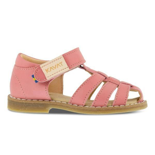 Kavat sandal m/velcro, Forsvik EP - Strawberry Rose