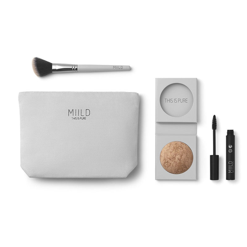 Miild make-up gavepose - Golden Glow