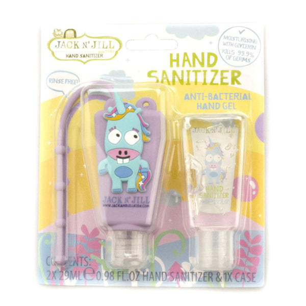 Jack N´ Jill håndsprit med praktisk holder, 2 x 29ml - Unicorn