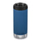 Klean Kanteen termokop, TK-WIDE 355ml, CAFÉ - Real Teal