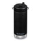 Klean Kanteen termokop, TK-WIDE 355ml, TWIST - Black