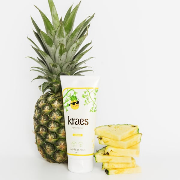Kraes rene totter 200 ml - Ananas