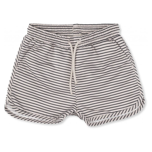 Konges Sløjd badeshorts - Striped Navy