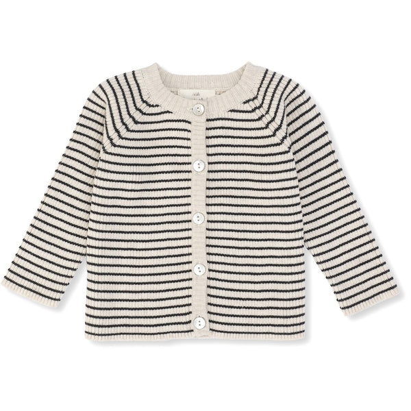 Konges Sløjd cardigan i strik, Meo - Navy/Rice