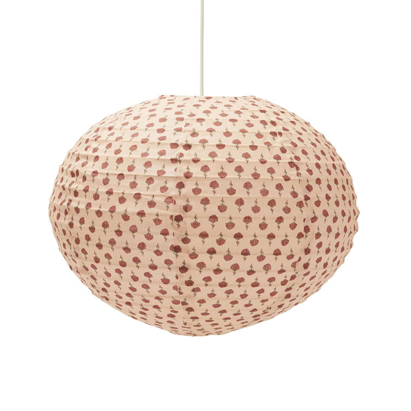 Konges Sløjd loftslampe, Pendant Ø55cm - Poppyflower Red