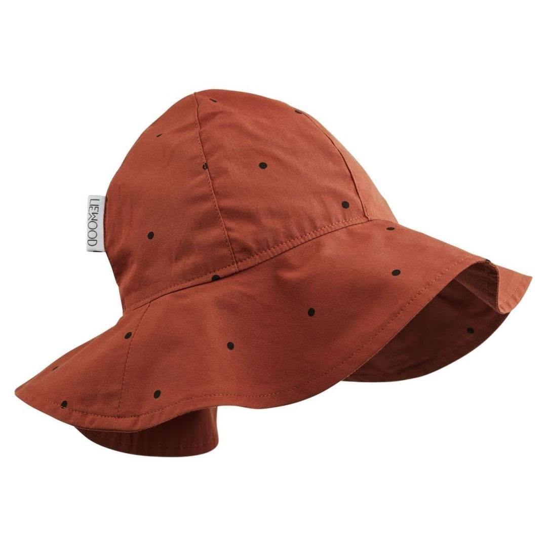 Image of   Liewood solhat, Classic dot - Rusty
