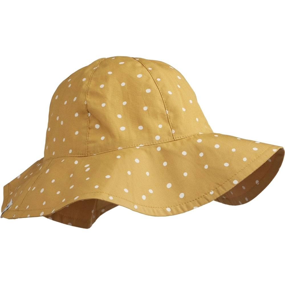 Image of   Liewood solhat, Amelia - Confetti Yellow Mellow