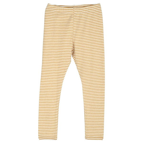 Serendipity bukser/leggings, barn - Honey/Offwhite