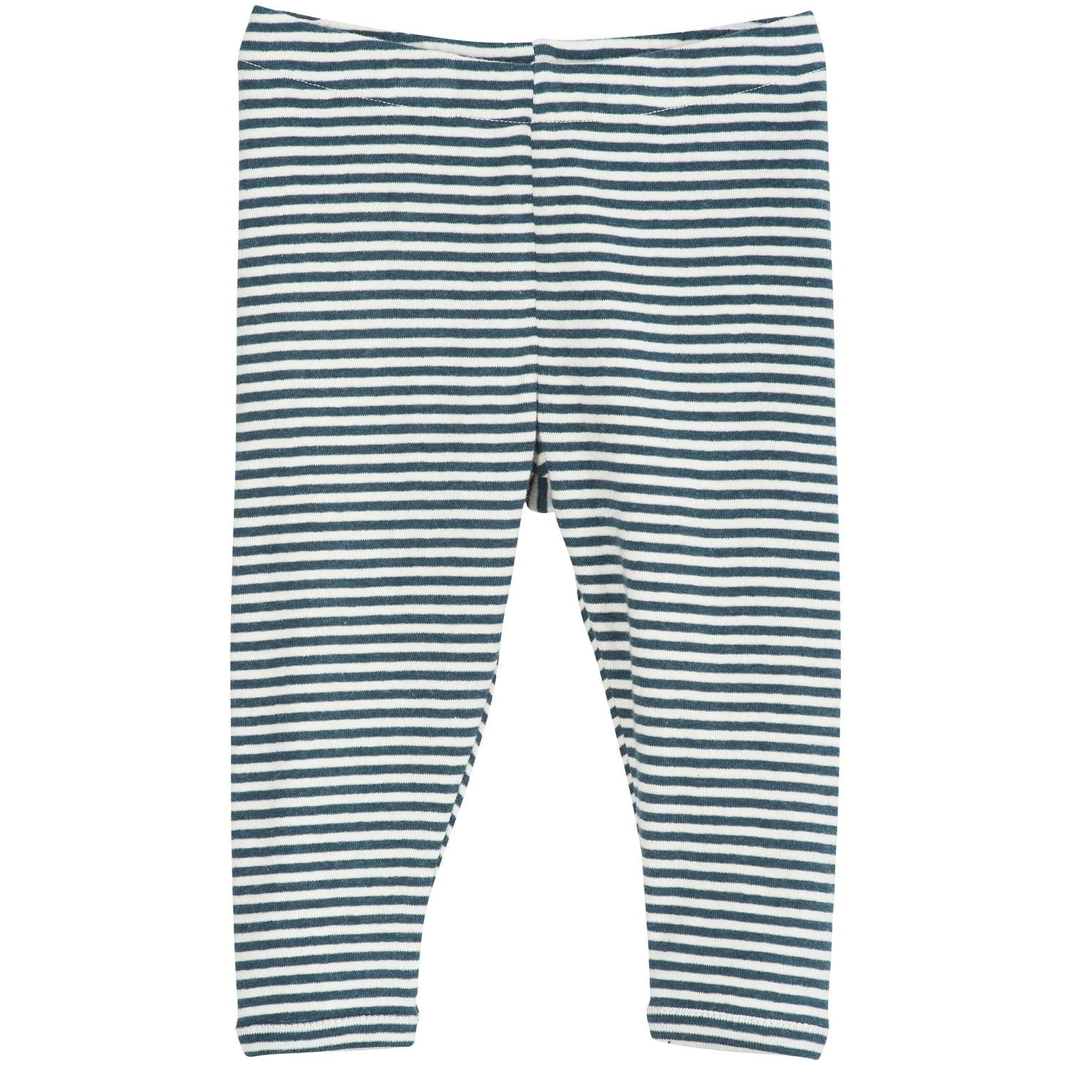 Image of   Serendipity bukser/leggings, Baby - Atlantic/Offwhite