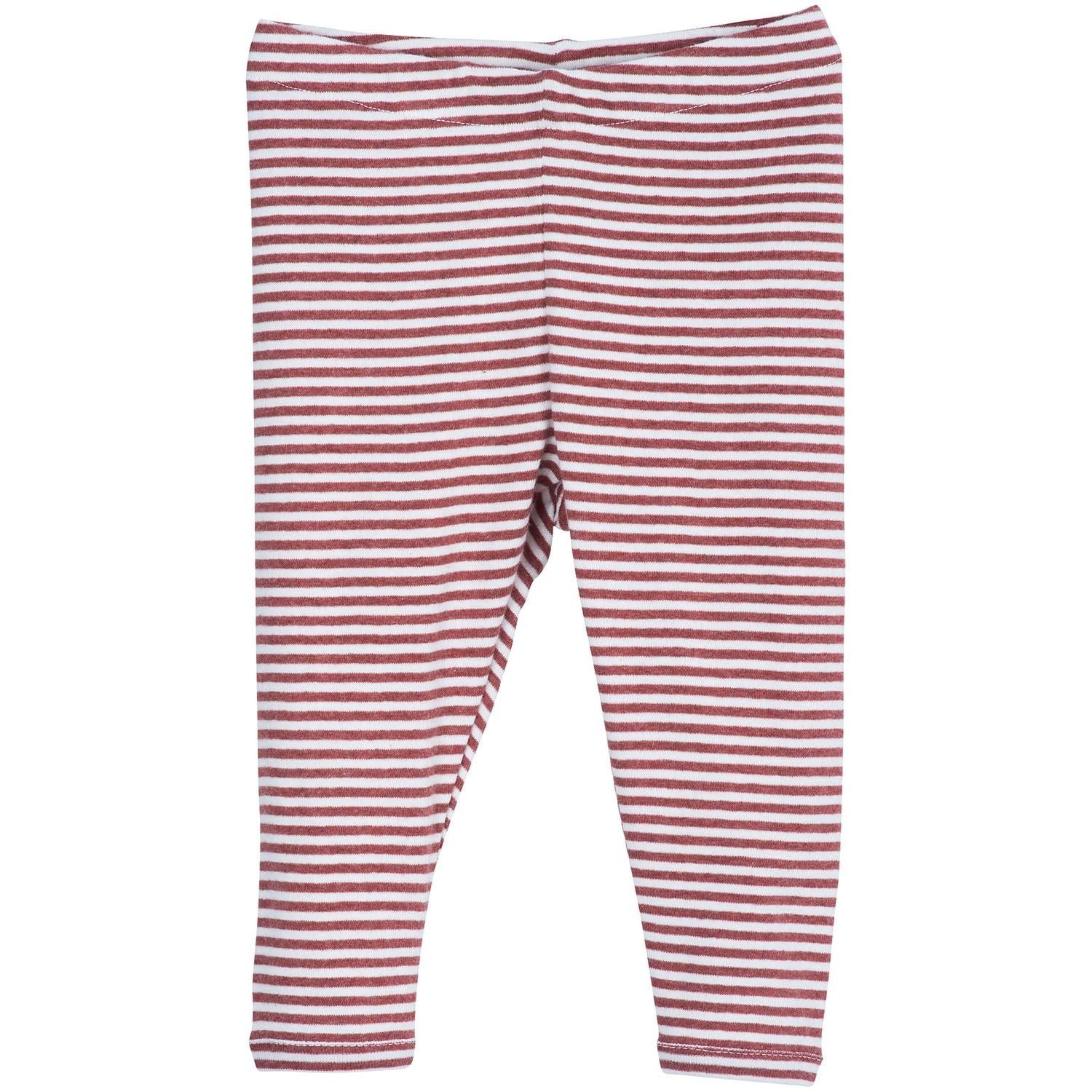 Image of   Serendipity bukser/leggings, Baby - Cayenne/Offwhite