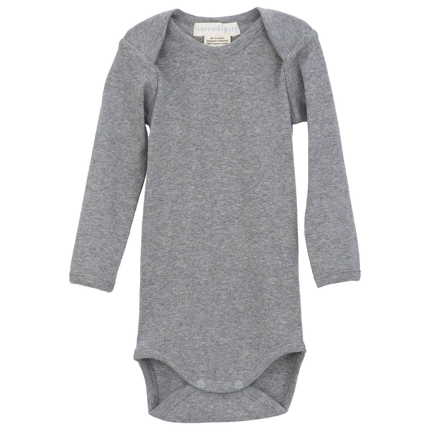 Image of   Serendipity body m/lange ærmer - Grey
