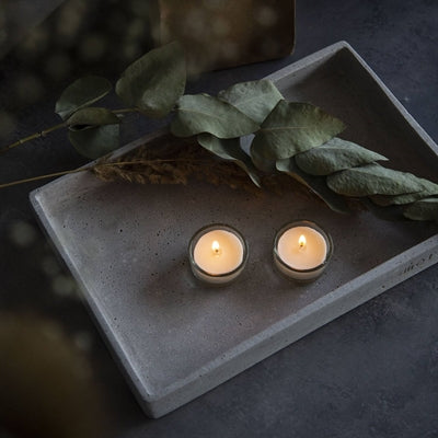 Image of   Candles by Nature fyrfadslys - soya 12 stk. + stager