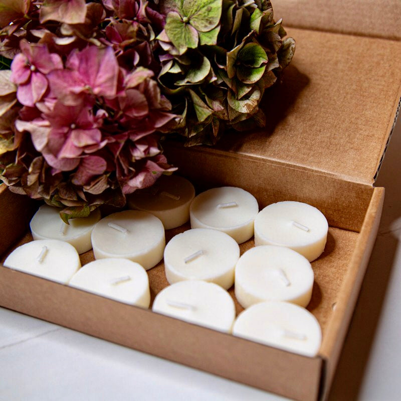 Candles by Nature fyrfadslys - soya 100 stk. + stager