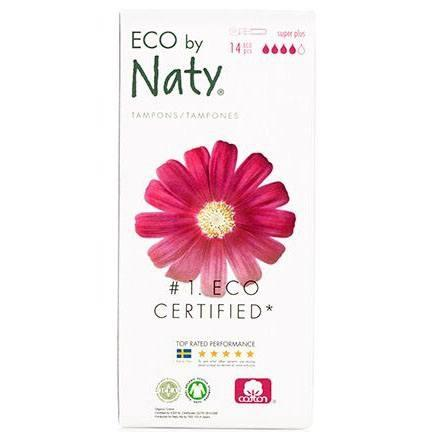 Naty Eco tampon super plus m. hylster