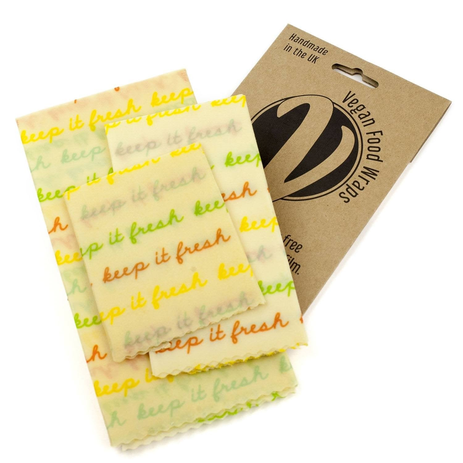 Billede af Vegan Food Wraps, Medium Kitchen Pack - 3 wraps