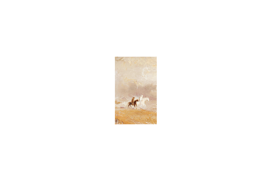 Riders on a Beach - J.M.W. Turner