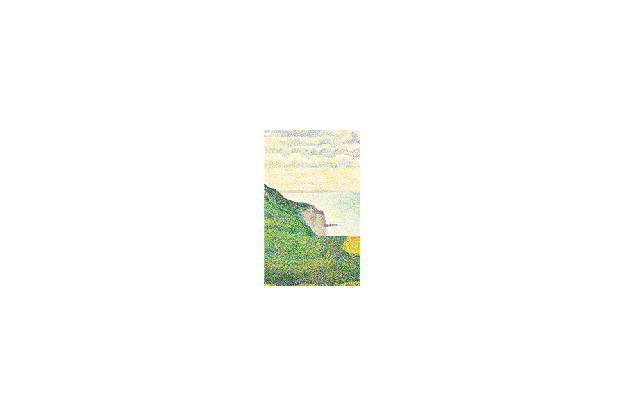 Seascape at Port-en-Bessin, Normandy - Georges Seurat