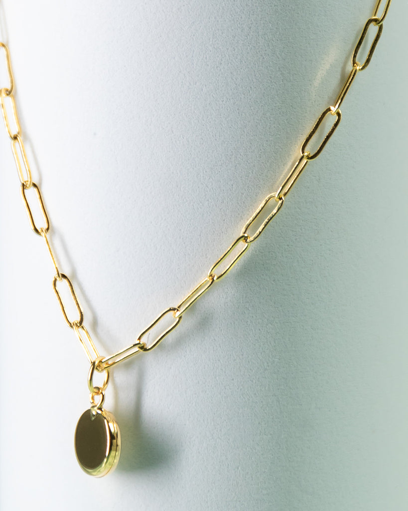 Reverie Modern Chain, 24k Gold