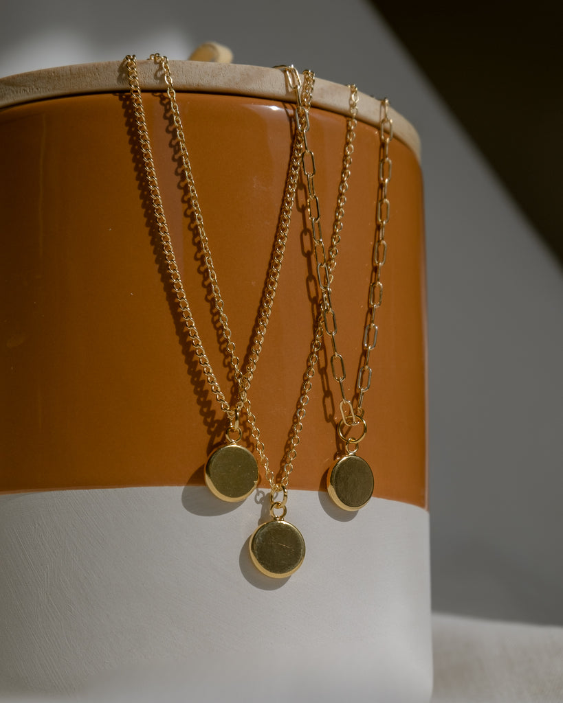 Sweet Birdy Chain, Gold Filled/Sterling Silver