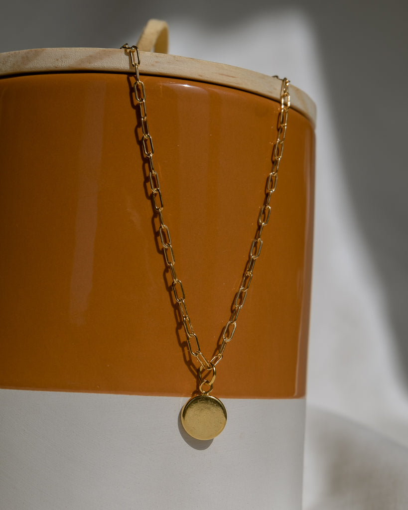 Gravity Cable Link Chain, Gold Filled/Sterling Silver
