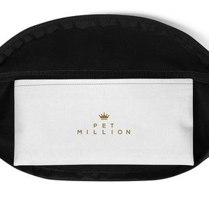 PETMILLION Gold Fanny Pack