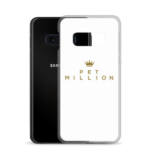 PETMILLION Gold Samsung Case