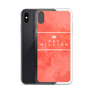 PETMILLION Peachstripe iPhone Case
