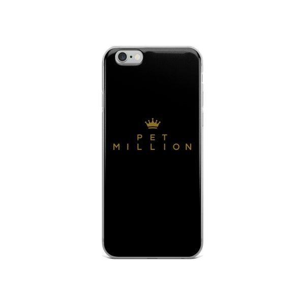 PETMILLION Darkgold iPhone Case