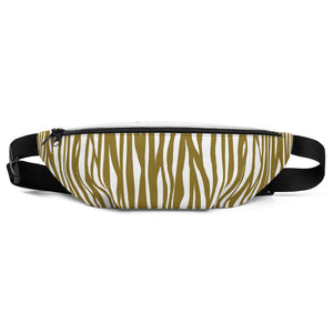 PETMILLION Golden Zebra Fanny Pack