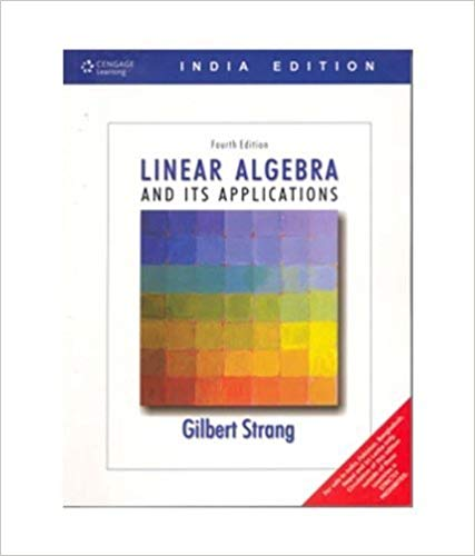 Linear Algebra and Its Applications Paperback –  by Gilbert Strang  (Author) - ey-estopper